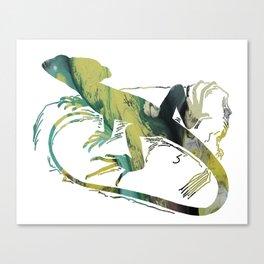 Basilisk Canvas Print