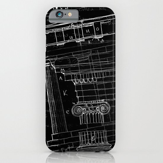 architectural notes iPhone & iPod Case