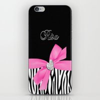 risa rodil iPhone & iPod Skins featuring risa by bry-kun