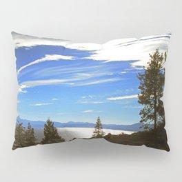 Shadowy North Lake Tahoe Pillow Sham