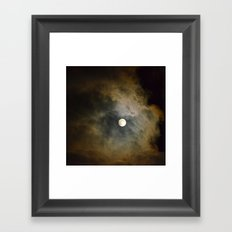 Lunar Corona  Framed Art Print