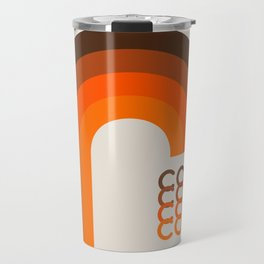 Coffee Mug - Brown Rainbow Travel Mug