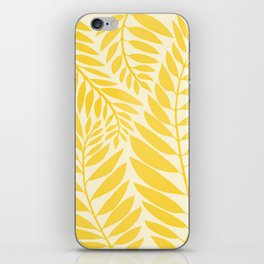 Golden Yellow Leaves iPhone Skin