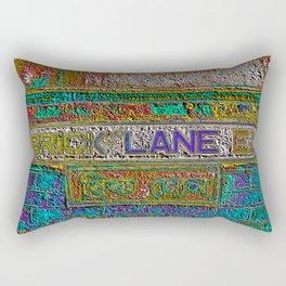 Brick Lane 3 A Rectangular Pillow