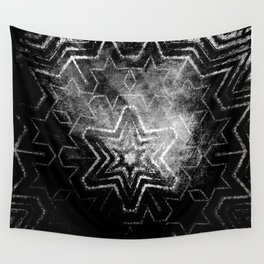Magical black and white mandala 003 Wall Tapestry