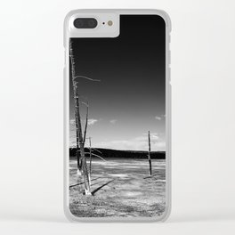 Lodgepole Pines Clear iPhone Case