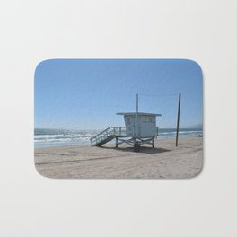 Malibu Beach Lifeguard Stand Bath Mat