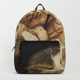 Dante Gabriel Rossetti - Monna Vanna Backpack