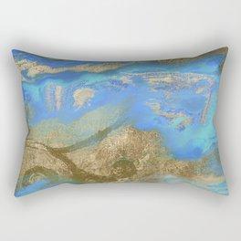 Cobalt Sea Rectangular Pillow