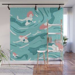 Mermaids Wall Mural