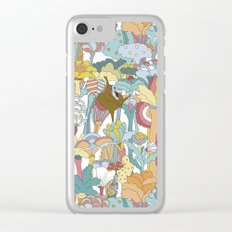 Pepperland Allover Clear iPhone Case