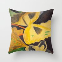 pasta Throw Pillows featuring Pasta by Stefanie Sharp