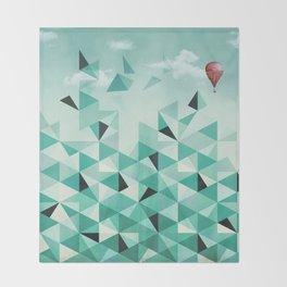 Emerald City (Blue Sky Version) Throw Blanket