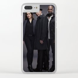 Army of Three. Clear iPhone Case