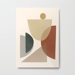 Abstract Minimal Art 26 Metal Print