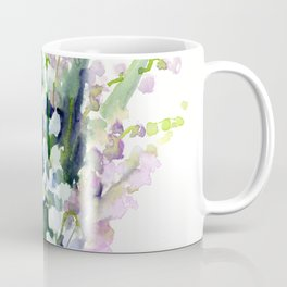 Lilies of the Valley, spring floral design flowers sring design wood flowers Coffee Mug