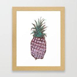 Pineapple Crush Framed Art Print
