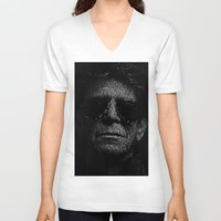 lou reed V-neck T-shirts featuring LOU REED, SO FREE. by Robotic Ewe
