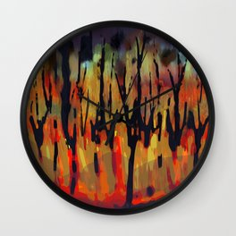Incendio Wall Clock