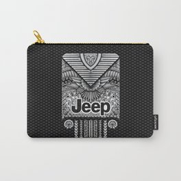 Aztec Jeep iPhone 4 4s 5 5c 6, pillow case, mugs and tshirt Carry-All Pouch