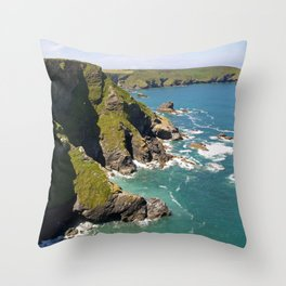 Hell's Mouth Throw Pillow