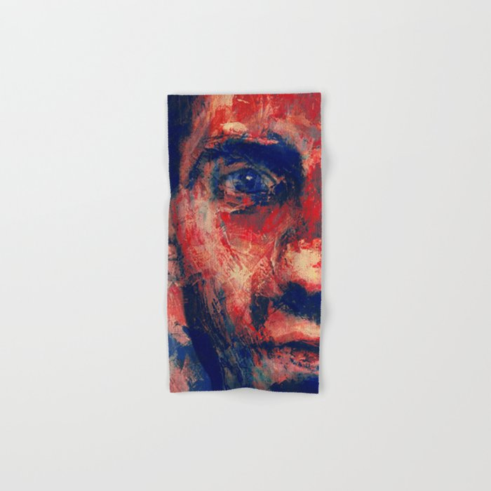 Face in Saturated Color's 4 Hand & Bath Towel