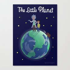The Little Planet Canvas Print