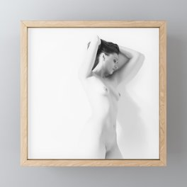 Nude Framed Mini Art Print