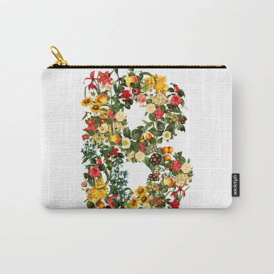 B FLOWER Carry-All Pouch