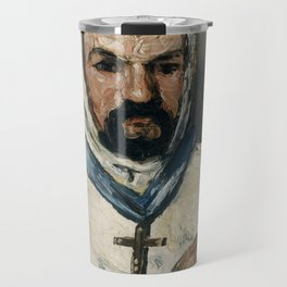 The Monk by Paul Cézanne, 1866 Travel Mug