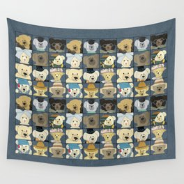 Teddy Bears Wall Tapestry