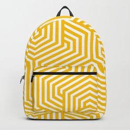 Golden poppy - orange - Minimal Vector Seamless Pattern Backpack