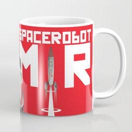 Retro Soviet minimalism space robot Coffee Mug