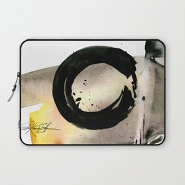 Enso Abstraction No. 105 by Kathy morton Stanion Laptop Sleeve