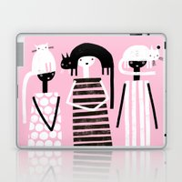 PINK BLACK & WHITE Laptop & iPad Skin