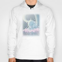 baby elephant Hoodies featuring Elephant Baby by SatrunTwins
