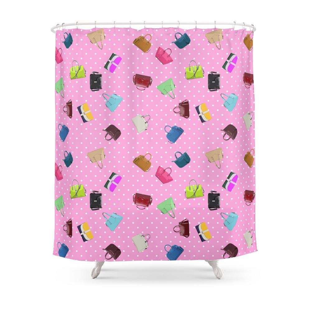 Purses and Handbags Shower Curtain by gx9designs (CTN7303716) photo