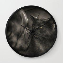 Cat Versus Dog Wall Clock