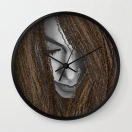 Asunder Wall Clock