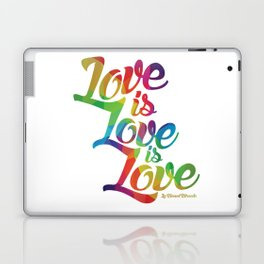 Love is Love is Love Laptop & iPad Skin