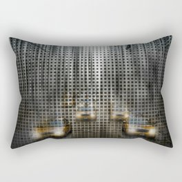 Graphic Art NYC 5th Avenue Traffic V Rectangular Pillow