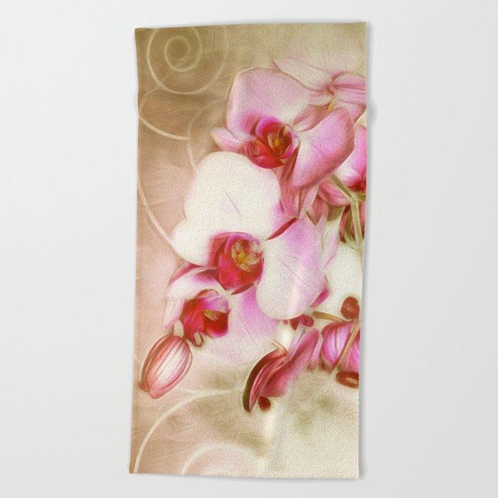 Orchid Dream 2 Beach Towel