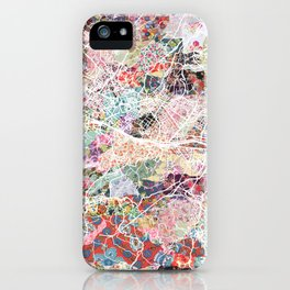 Florence map iPhone Case