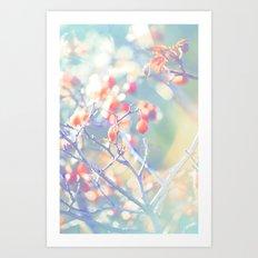Berry Delight Art Print