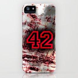 42 iPhone Case