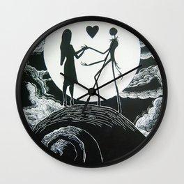 jack sally Wall Clock