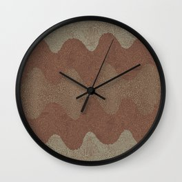 Under the Influence (Marimekko Curves) Putty in Your Hands Wall Clock