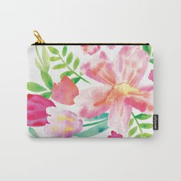 Watercolor spring Carry-All Pouch