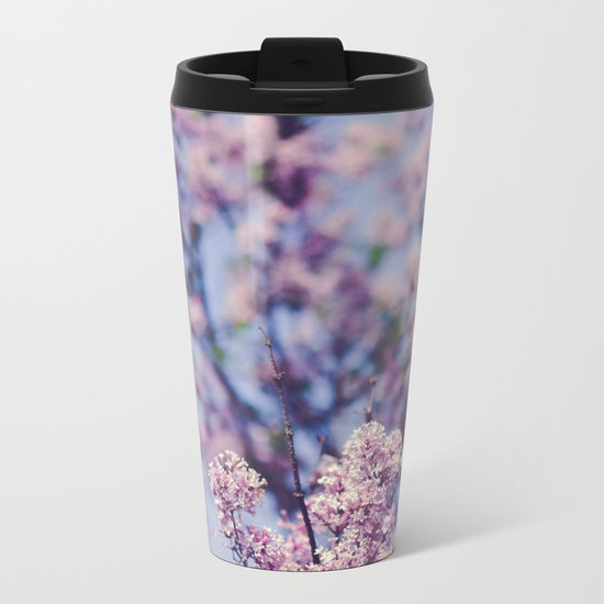 She Was an Introvert with a Beautiful Universe Inside Metal Travel Mug