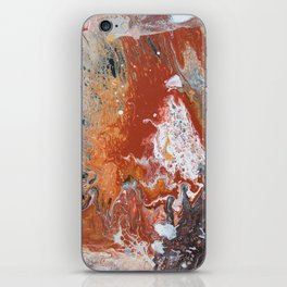 Night Fire iPhone Skin